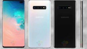 Galaxy S10 e S10+: Vazam imagens oficiais dos modelos 9