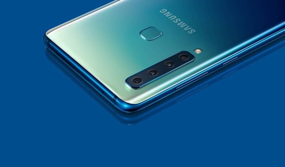 Galaxy A9 2018 chega com 5 câmeras ao Brasil
