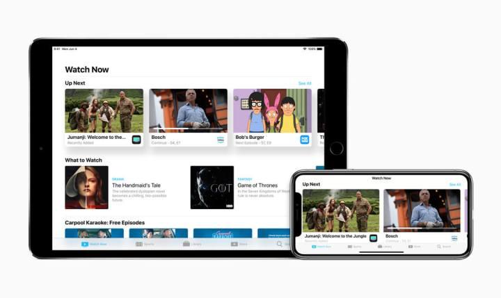 TV App para iOS
