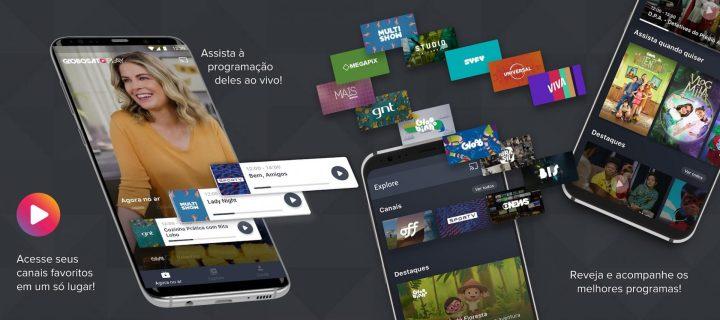 Já o Globosat Play é o app de TV da Globo para conteúdos fechados