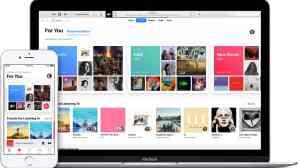 Tela do Musish em Macbook e iPhone