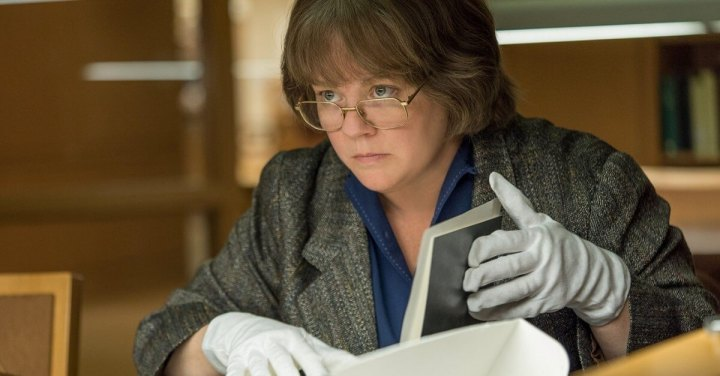 O Oscar ignorou Marielle Heller, diretora de Poderia me Perdoar?