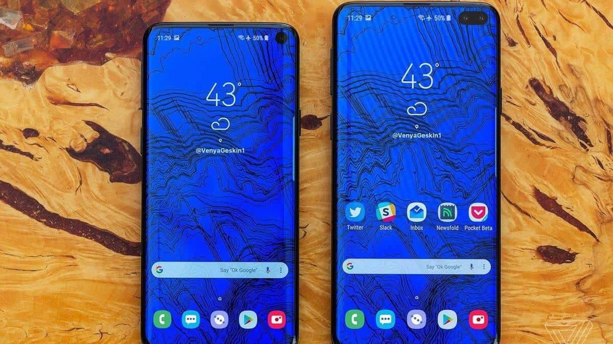 Galaxy S10 e S10 Plus tem fotos reais reveladas