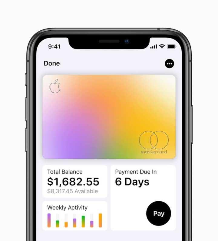 Todas as informações sobre o Apple Card, incluindo o próprio cartão, podem ser encontrados no app Wallet.