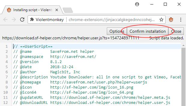 SaveFrom: Como baixar arquivos com segurança da internet 5