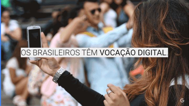 De acordo com o Digital Skills Index do Google, o brasileiro tem vocação digital.