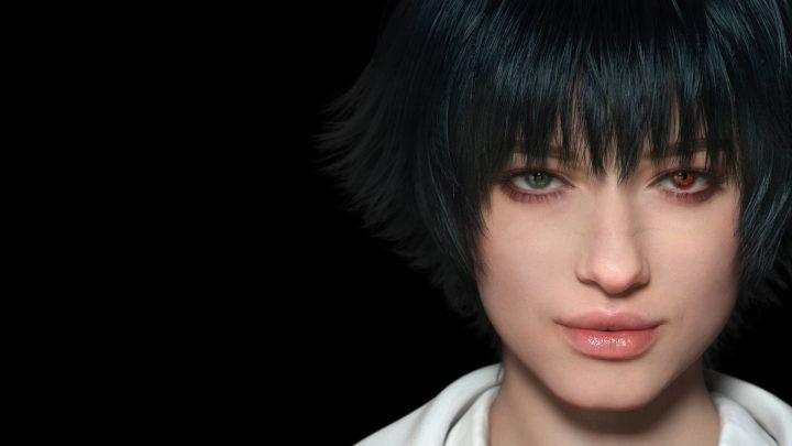 Lady, uma personagem dos jogos anteriores mas que volta em Devil May Cry 5.
