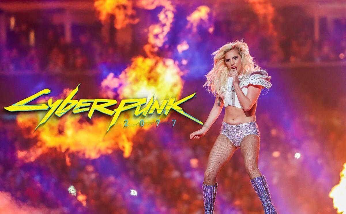 Lady Gaga estará em Cyberpunk 2077