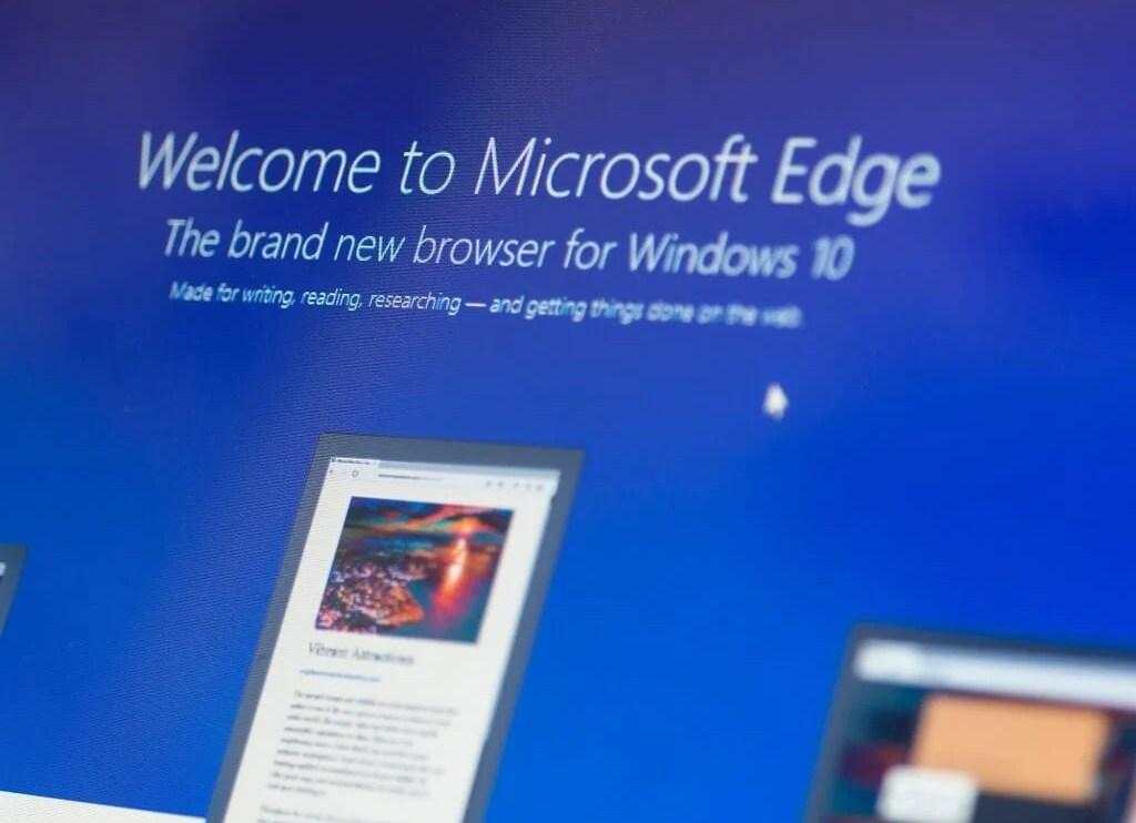 Novo Microsoft Edge