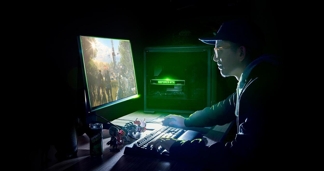 Desktop equipado com placa de vídeo NVIDIA GeForce GTX