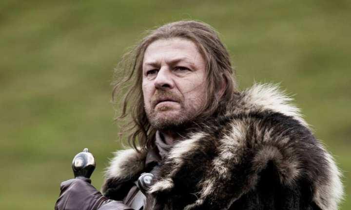 Sean Bean interpretou Ned Stark na primeira temporada de Game of Thrones
