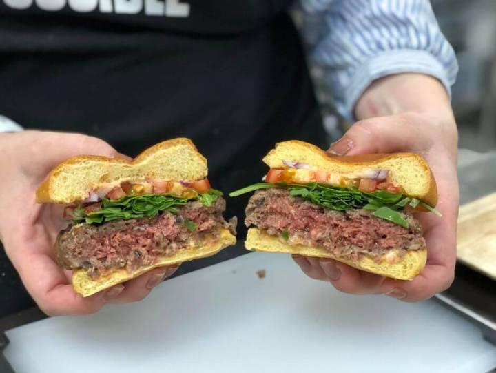 Burger King testa hambúrguer 100% vegetariano