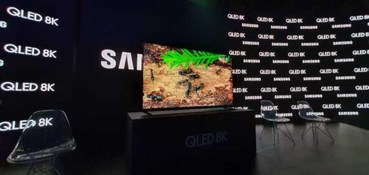 qualidade de imagem da nova QLED 8K da Samsung