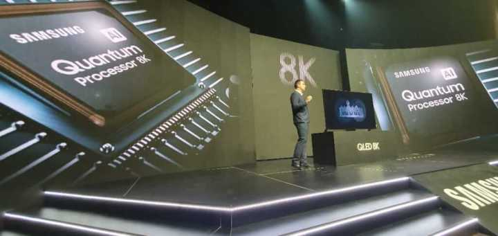 Quantum Processor 8K da Samsung