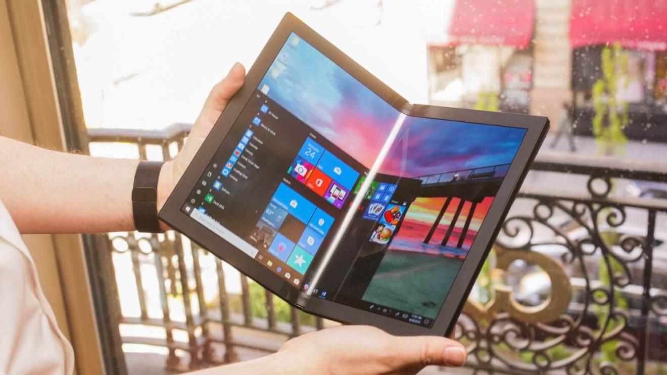 Tudo é dobrável! Lenovo mostra protótipo do primeiro PC dobrável do mundo 6