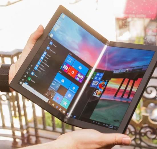 Tudo é dobrável! Lenovo mostra protótipo do primeiro PC dobrável do mundo 4