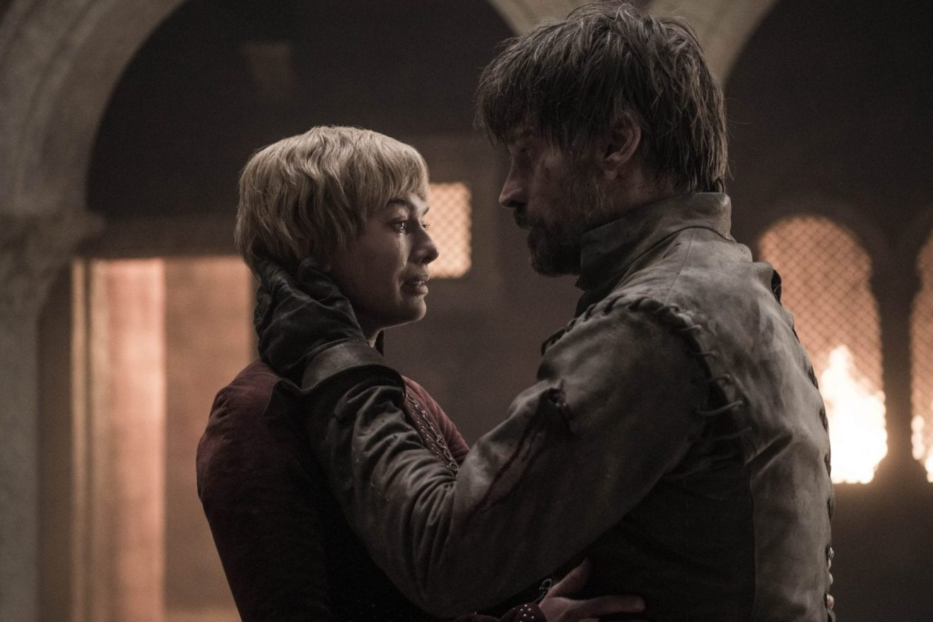 Cersei e Jamei no quinto episódio da oitava temporada de Game of Thrones.