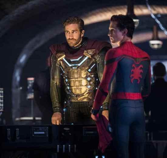 Homem Aranha e Mysterio