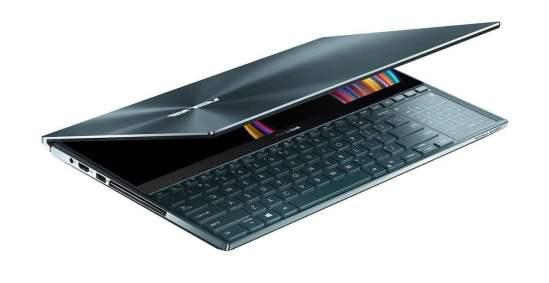 ZenBook Pro Duo é um curioso notebook com uma segunda tela na parte inferior