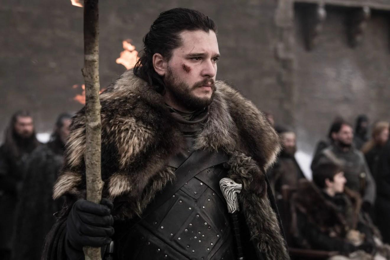 Jon Snow em prévia do quarto episódio de Game of Thrones.