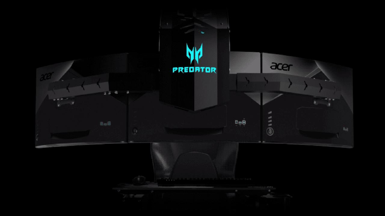 Acer traz setup Predator Thronos para experimentação gratuita em São Paulo 6