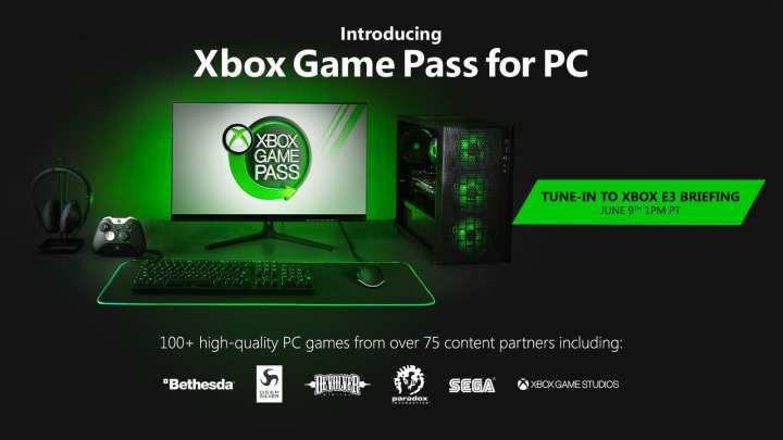 Microsoft anuncia Xbox Game Pass para PC