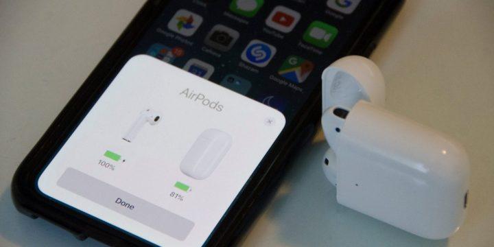 É esperado que, com os novos modelos de iPhones, possa-se compartilhar a bateria do seu celular para os Air Pods por meio de carregamento sem fio.