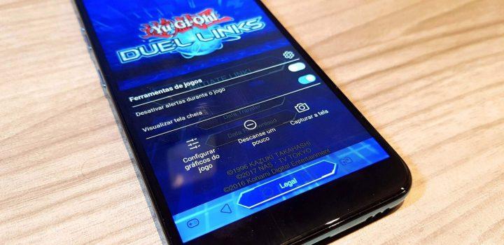painel de jogos LG K12+