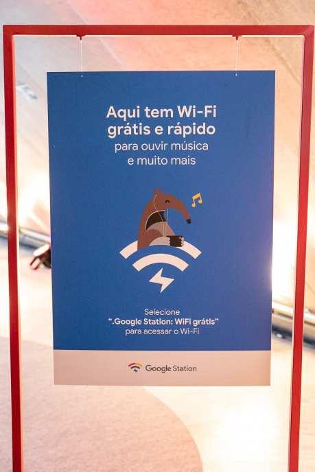 Atualmente, existem pontos de acesso ao Google Station em espaços públicos e parques