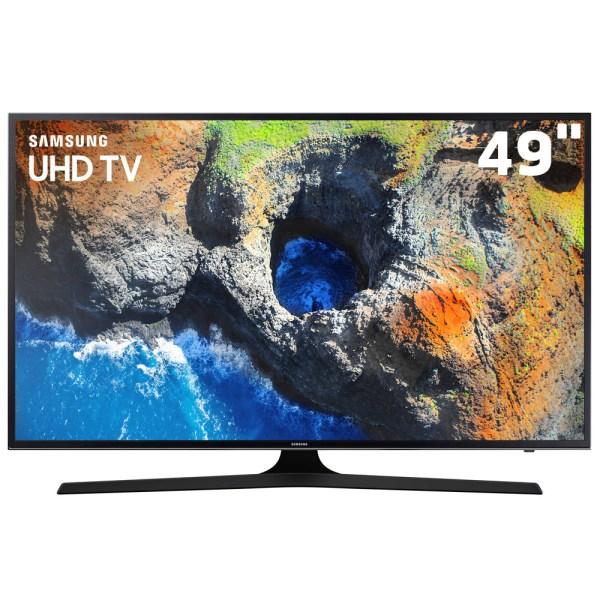 Com definição 4K, a Smart TV Samsung oferece altíssima qualidade de imagem