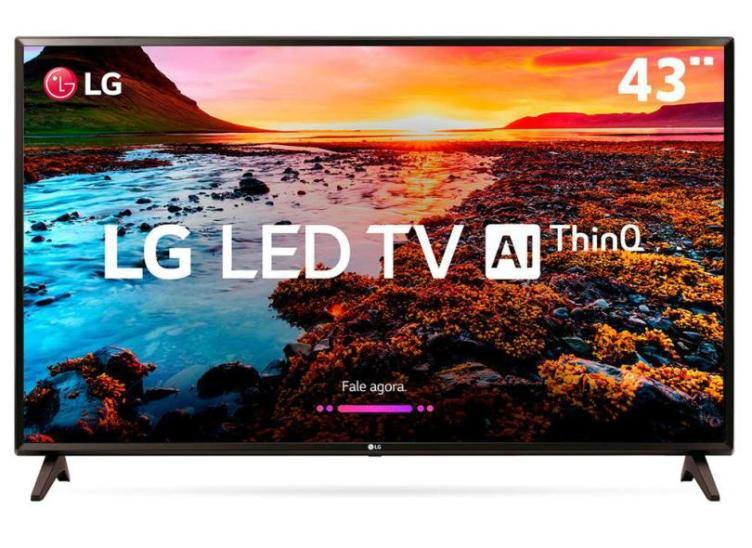A maior aposta dessa Smart TV LG é a Inteligência Artificial