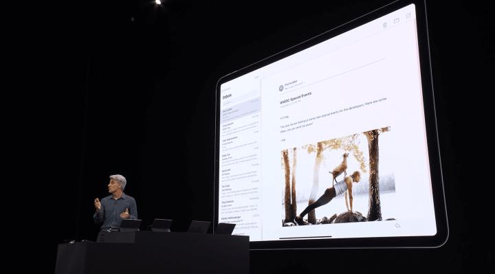 Novas funcionalidades de multitarefa no iPadOS
