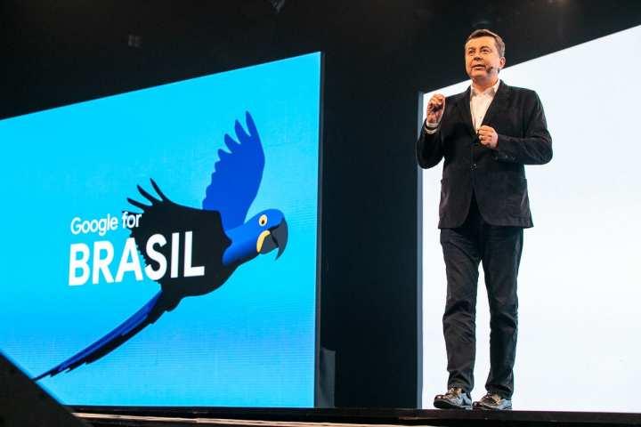 Fabio Coelho, Presidente do Google Brasil, anunciou  que o Brasil é oitavo pais do mudo a receber o Google Station.