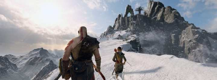 Foto mostra God of War, o mais novo exclusivo do Playstation com gráficos estonteantes de lindos!
