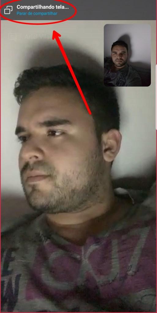 Compartilhar tela do Skype