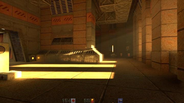 Quake II parecendo jogo da atual geração!