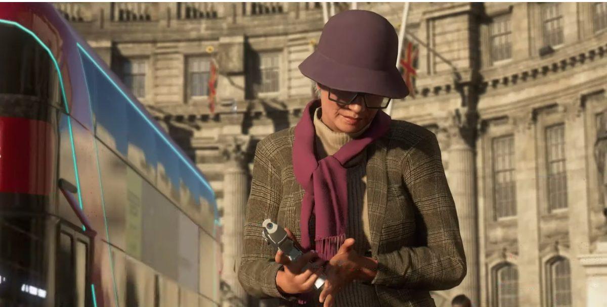 Helen é uma senhora que conquistou muitos no trailer de Watch Dogs Legion.