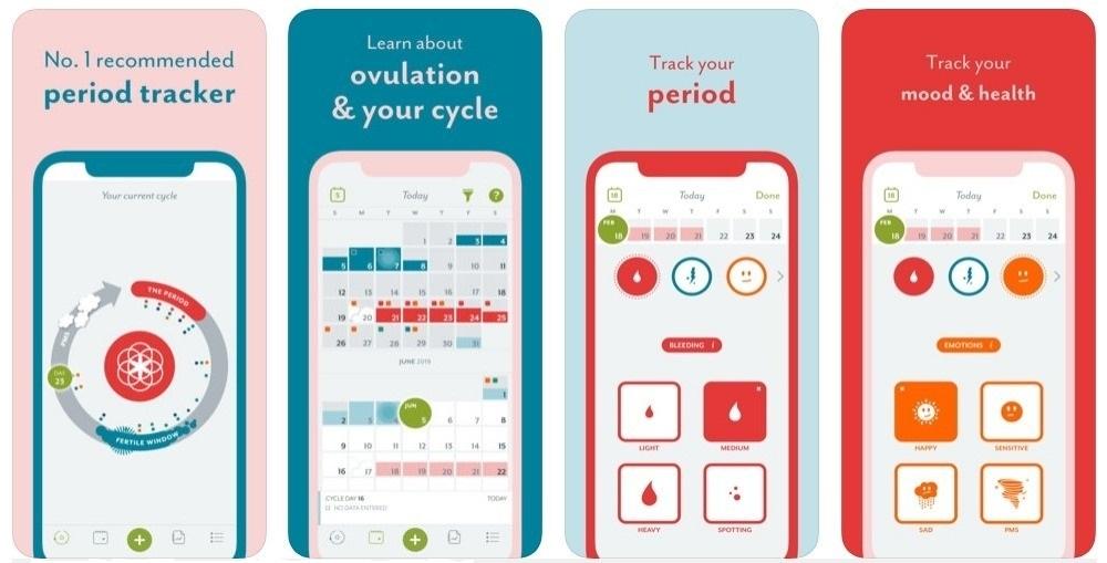 Clue bir kadın sağlığı uygulaması, takvim ve adet izleme ve sağlığınız için bir bilgi kaynağı.