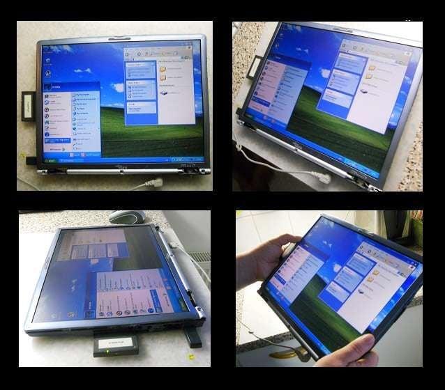 Use seus talentos manuais e transforme o computador antigo em um tablet