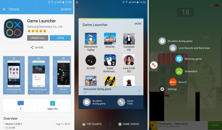 O Samsung Game Launcher permite que você grave suas gameplays nos aparelhos da Samsung