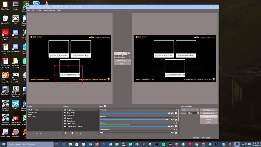 O OBS Studio é uma ferramenta cheia de recursos para gravar a tela de seu computador