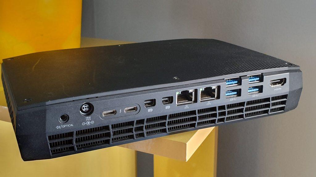 Se você procura uma máquina backbone poderosa e altamente personalizável, o Intel Hades Canyon NUC é uma ótima opção