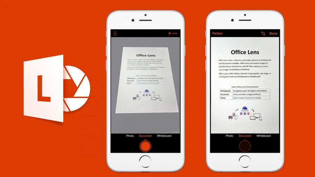 Com interface clean, o Microsoft Office Lens é um excelente app de scanner para iOS