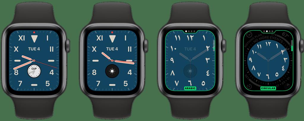 Califórnia traz um design mais traicional para o  watchOS 6.
