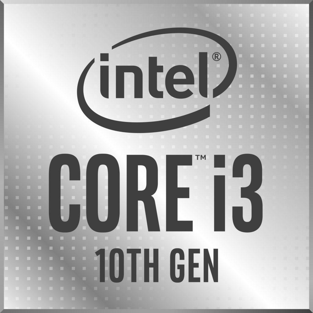 Logo da Intel i3 de 10ª geração