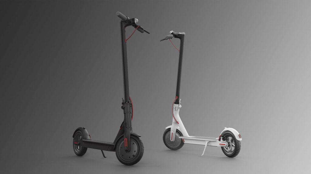 O Mi Eletric Scooter promete correr 30km com uma carga de meia hora