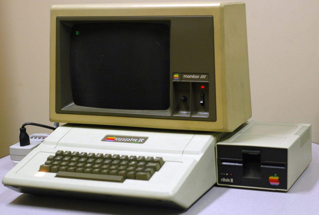 apple II história do computador