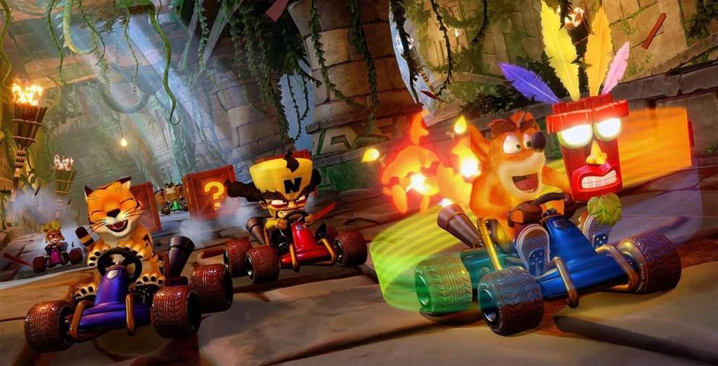 Nitro Fueled traz novamente a sensação de pilotar os karts com a turma do Crash Bandicoot