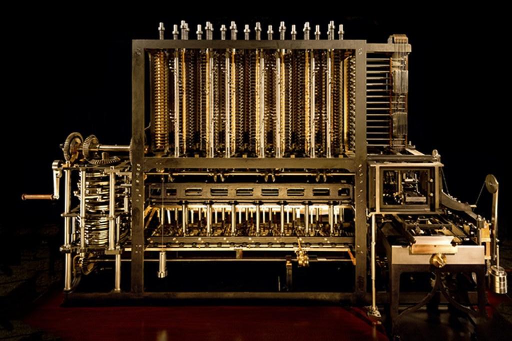 máquina diferencial história do computador