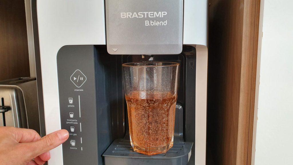 É possível fazer bebidas gaseificadas na B.blend un.plug